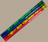 12 Sixth Grader Personalized Motivational Pencil