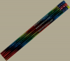 12 Rainbow Personalized Motivational Pencil