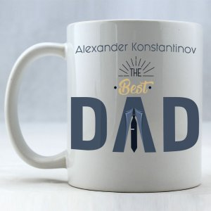 The Best Dad Personalized Coffee Mug