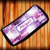 Personalized Abstract Purple Pencil Case - FREE PERSONALIZATION