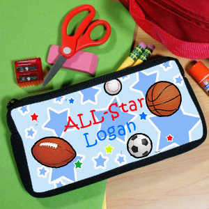Personalized All-Star Pencil Case